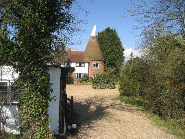 Monks Hill Oast, Monks Hill, Smarden, Kent