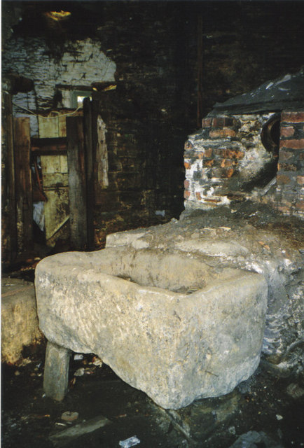 Inside the old forge,Chillington