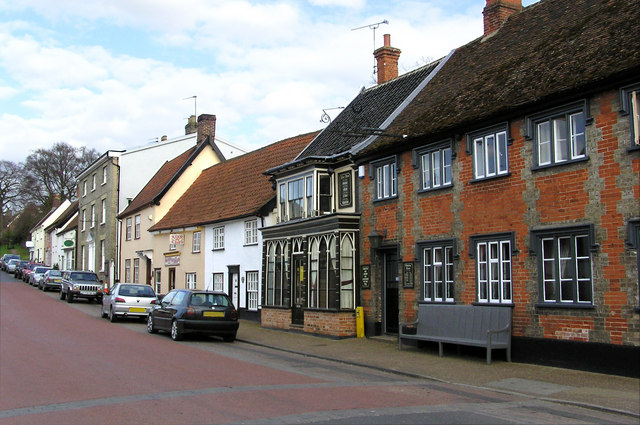 The Market Place, Botesdale, Suffolk
