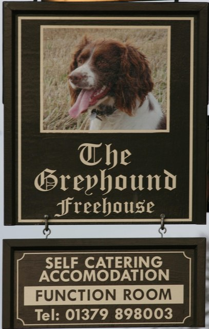 The Greyhound, Botesdale, Suffolk