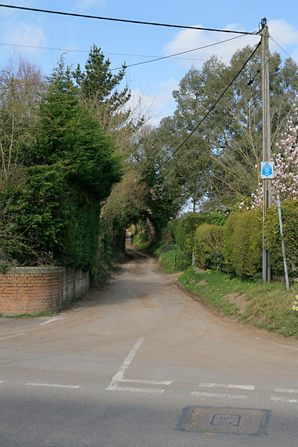 Bridleway and lane known as Pill Hill, Whiteparish