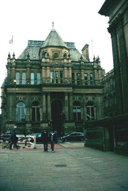 Leeds School Board building, Calverley Street
