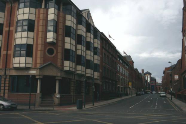 Queen Street off Wellington Street