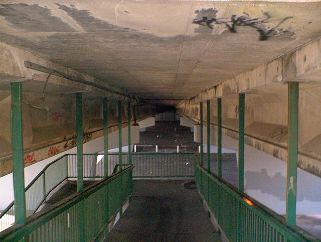Under the A180 Flyover, Grimsby