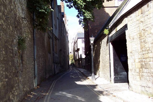 Magpie Lane, Oxford