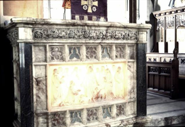 Clayton St. John the Baptist - Pulpit