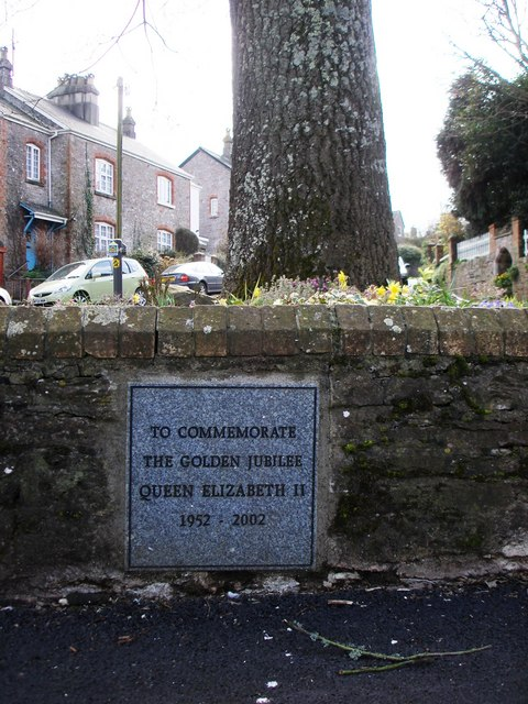 Plaque, Greenway Road, Galmpton