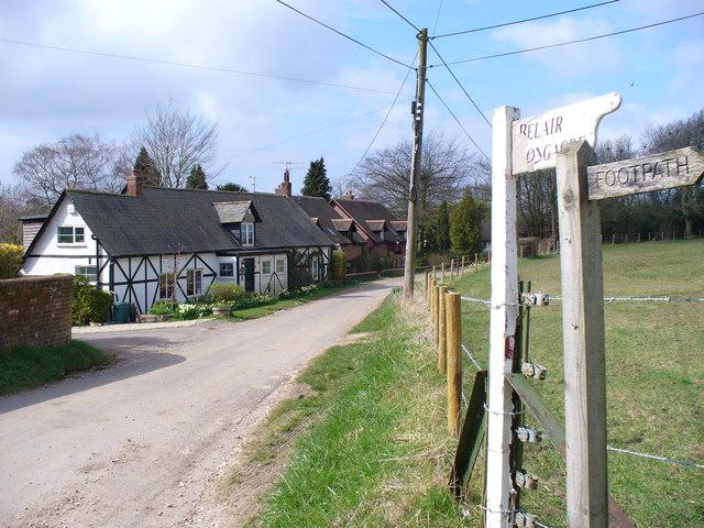 Minor Road near Soames Farm