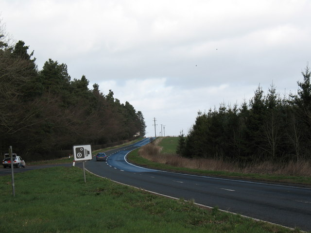 A68 at Edgerston Rigg