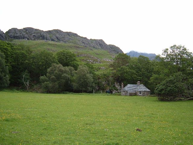 Cottage near Loch Maree