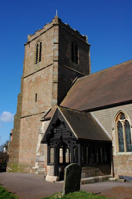 Redmarley D'Abitot church