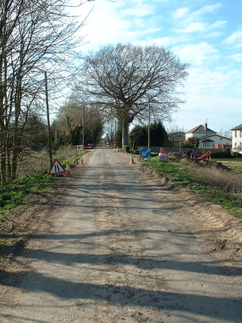 Road improvements, Rookery Road, Sutton Bridge