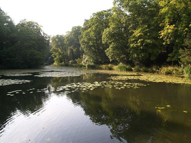 Lake at Wallington Hall