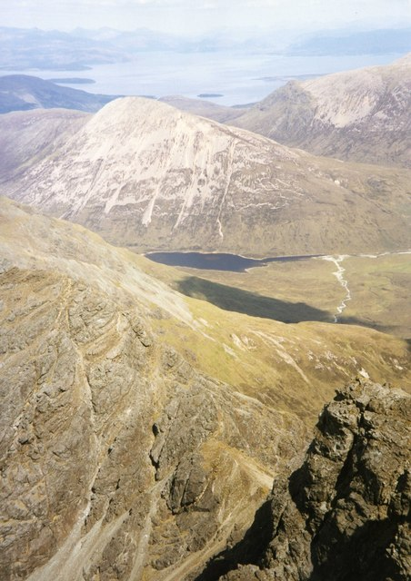View North East from Bla Bheinn