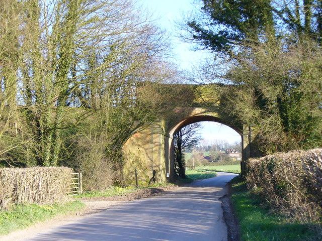 Railway Bridge Near Inadown
