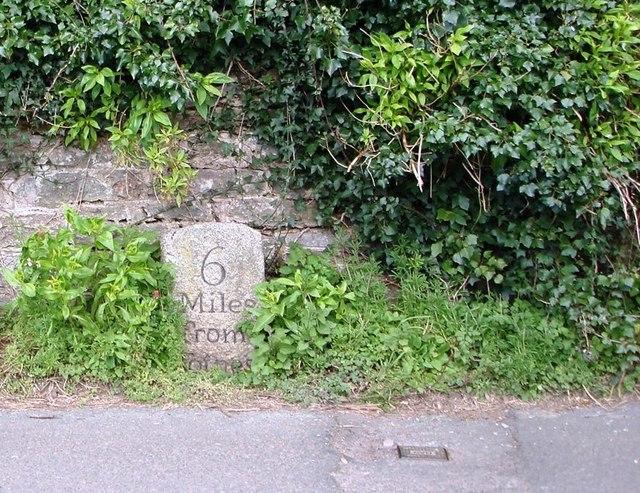 Milestone, Stoke Gabriel Road, Galmpton