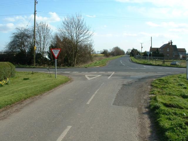 Crossroads on Hospital Drove