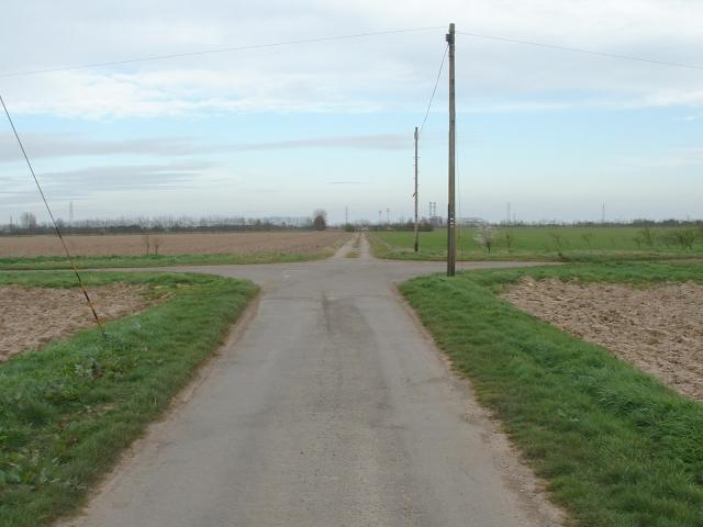 Crossroads on Shaw's Lane, Long Sutton