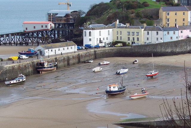 Tenby Harbour and Lifeboat Station