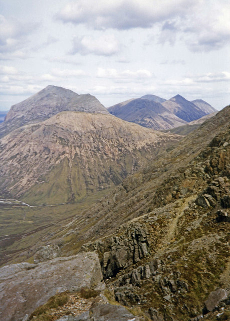 View from Bla Bheinn (South Ridge) to the North