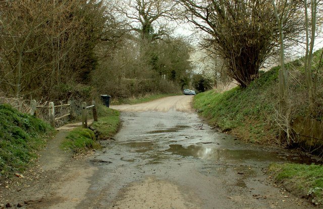 A ford in Water Lane