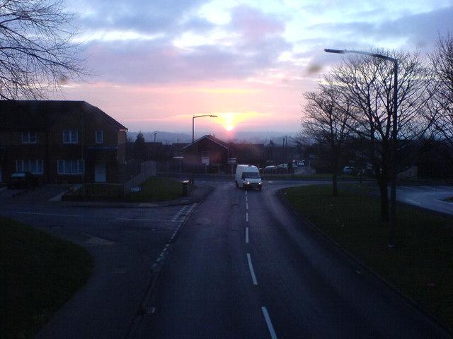 Sunrise at Holt Park.