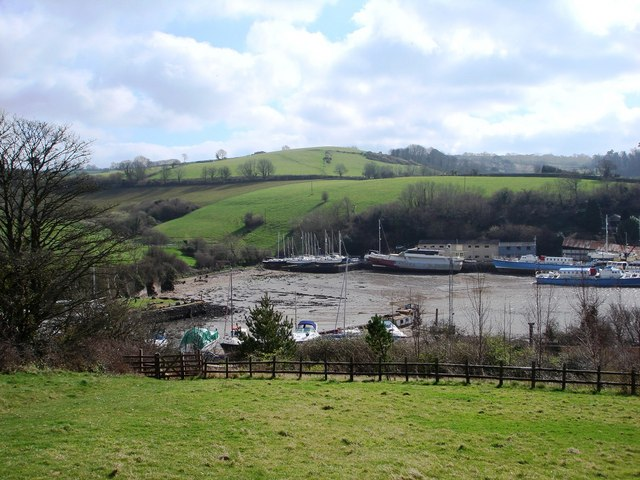 Galmpton Creek and Brim Hill