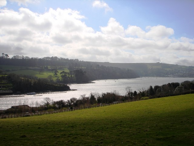 River Dart from above Galmpton Creek