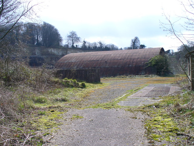 Chalk Quarry near Monkwood