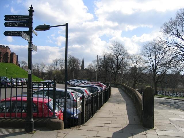 Chester's City Walls - Grosvenor Road to Bridgegate #1