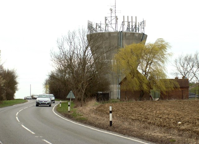 Water tower along the B.184