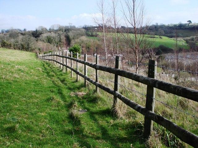 Fence, Galmpton Creek