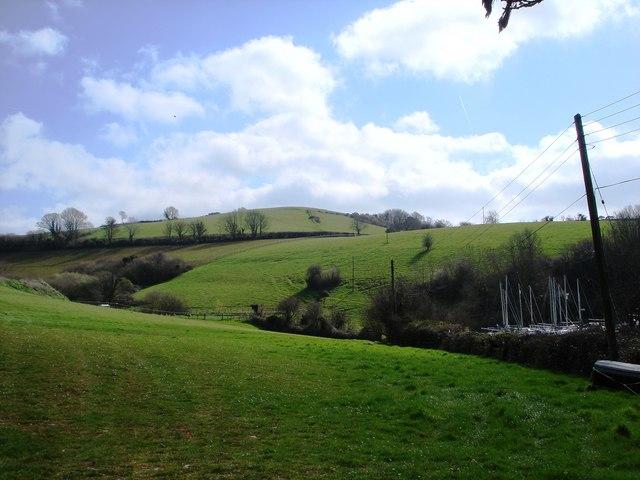 Brim Hill, Galmpton Creek
