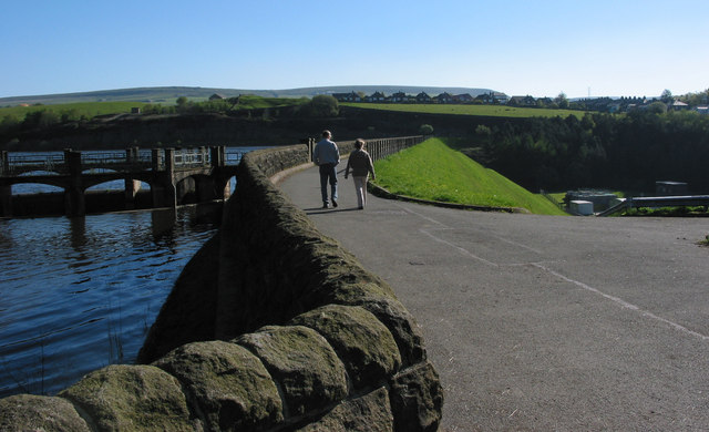 Walkway over the Wayoh Reservoir