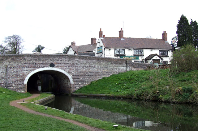 Bridge and Navigation Pub, Greensforge, Staffs. and Worcester Canal