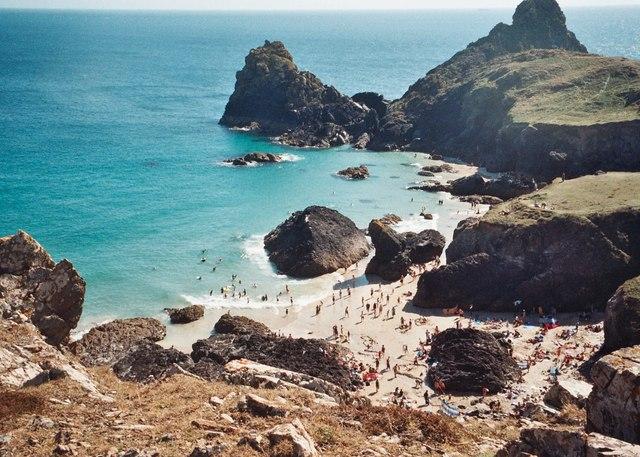 Kynance Cove - July