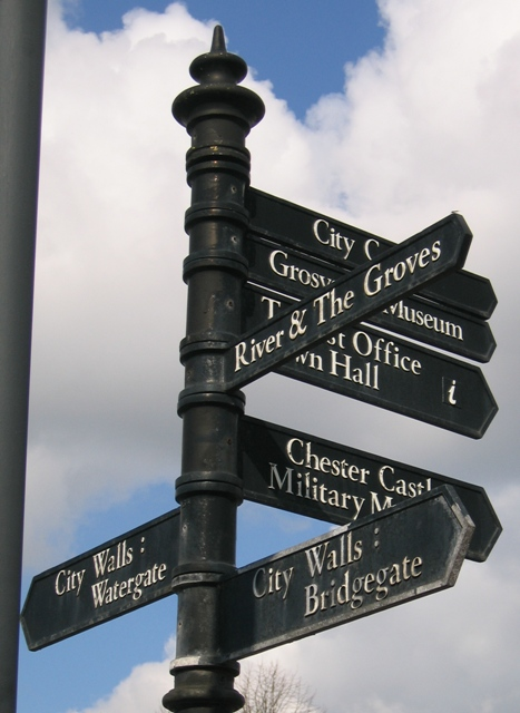 Signpost to the Bridgegate and Elsewhere