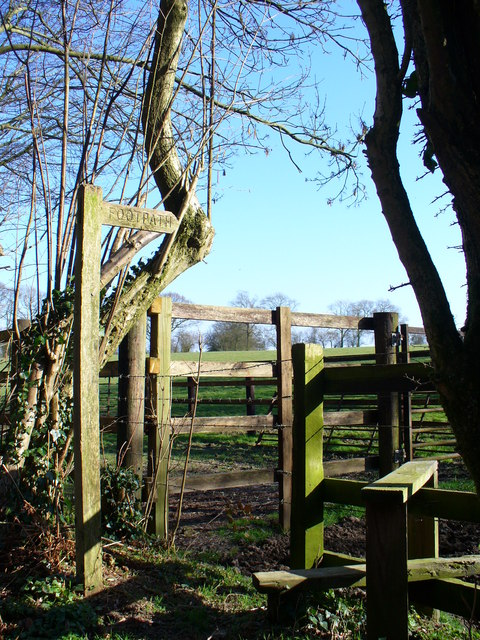 Stile and Sheep Pen