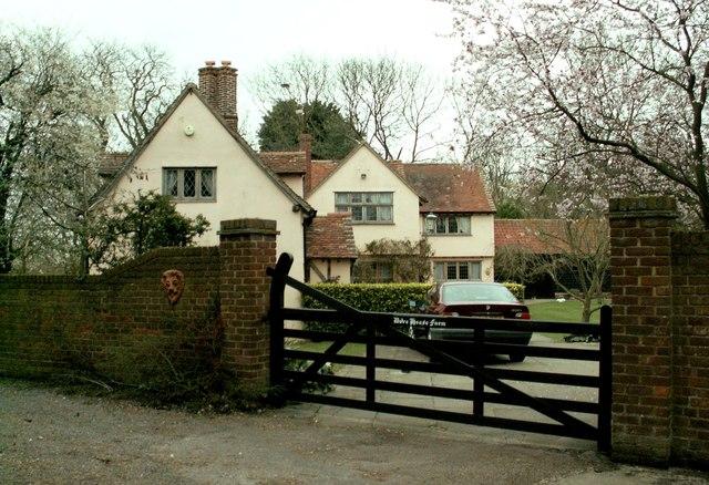 The farmhouse at Dove House Farm
