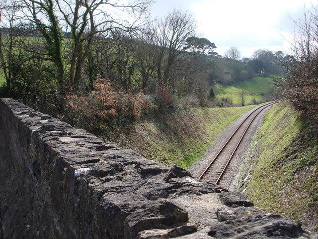 Railway, Hook  Bottom, Greenway road