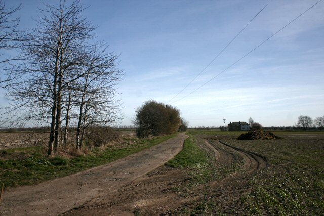 Track to Russell Farm