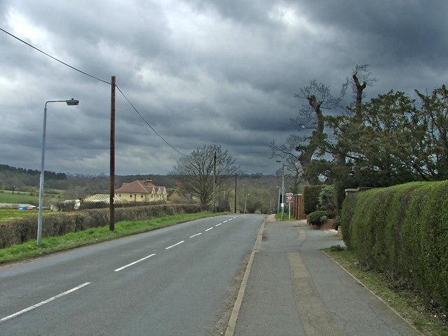 Hadley Road, Enfield, looking west