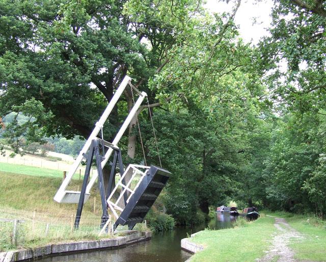 Llanddyn Lift Bridge, Shropshire Union Canal