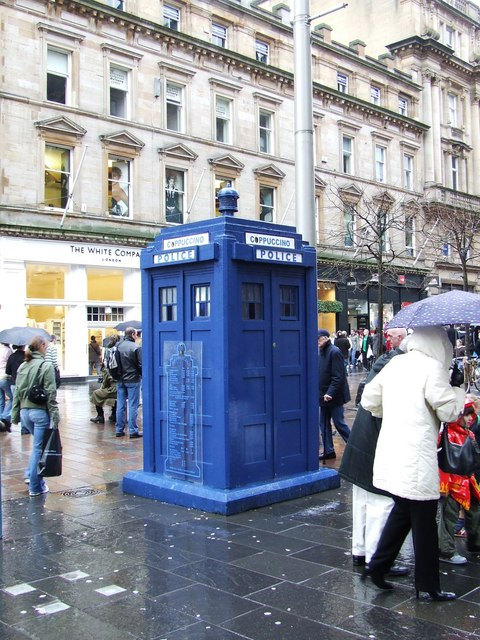 Converted police box