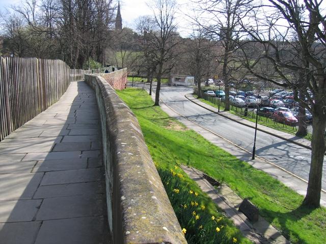 Chester's City Walls - Grosvenor Road to Bridgegate #4