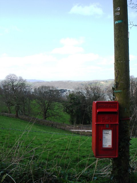 Postbox, Greenway Road, Hook Bottom