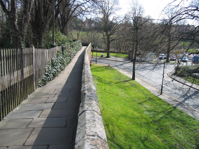 Chester's City Walls - Grosvenor Road to Bridgegate #5