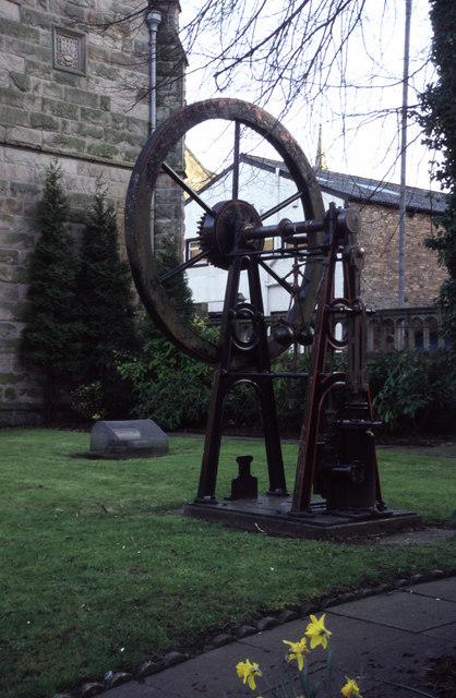 Steam engine, McLean Museum, Greenock