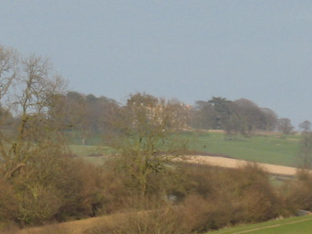 Across the fields to Ingarsby Hall