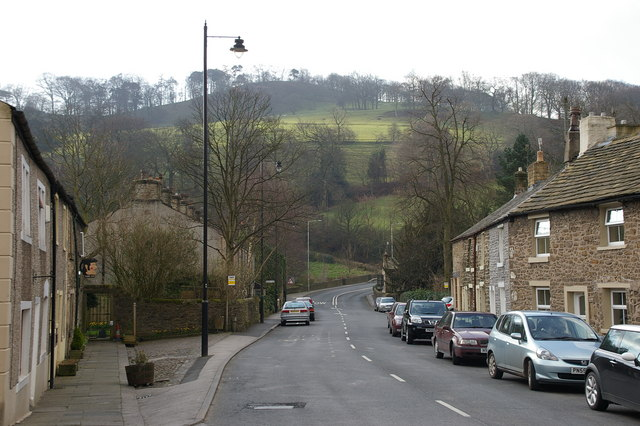 Whalley Nab/King Street, Whalley